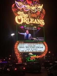 Osborn Experience Las Vegas Orleans Marquee